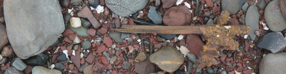 stick on beach